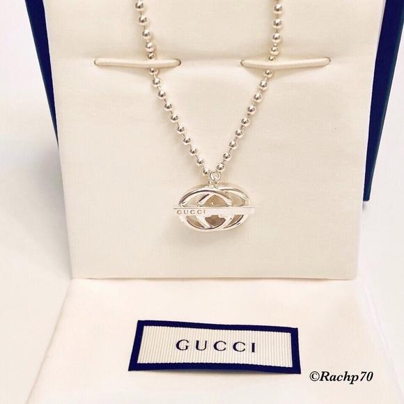 eae71fe53 Gucci Jewelry | Newauthentic Double G Logo Toggle Necklace | Poshmark